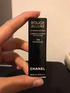 Chanel lipstick rouge allure No 138