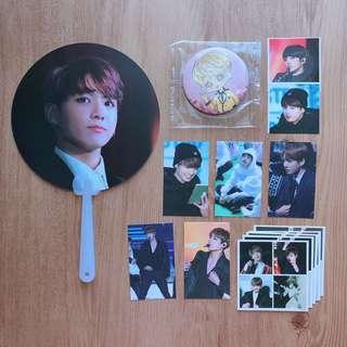BTS JUNGKOOK FANSITE FAN SET/BUNDLE