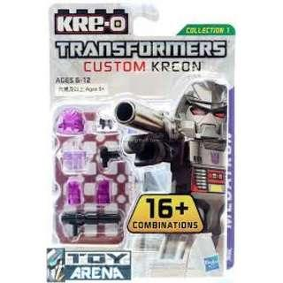 🚚 [Brand New] Kre-o Transformers Custom Kreon Minifigures  Wave 1 - Megatron