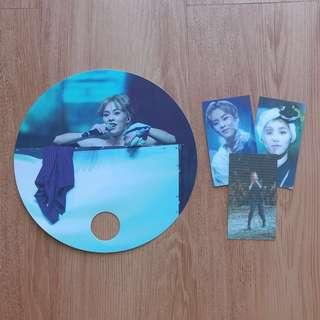 EXO XIUMIN/MINSEOK FAN SET