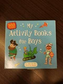 Bloomsbury Activity Books: My Activity Books For Boys