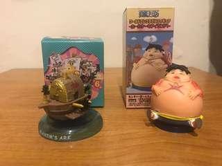 海賊王 海賊船 搖搖海賊船 艾涅爾 空島 蛋糕島篇 胖魯夫 路飛 wcf 公仔 模型 玩具