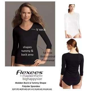 MAIDEN Back Tummy Shape Black / White