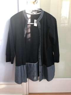 NWT Gap Navy shirt xs