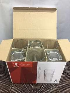 6pcs Glassware Set A