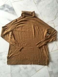 Turtle Neck Long Sleeve knitted top
