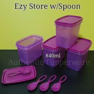 Instock Authentic Tupperware Ezy Store w/Spoon Retail Price S$38.80 Now S$34.90 spice saver