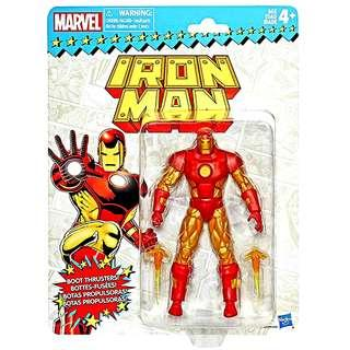 MISB Marvel Legends Vintage Series Iron Man Action Figure