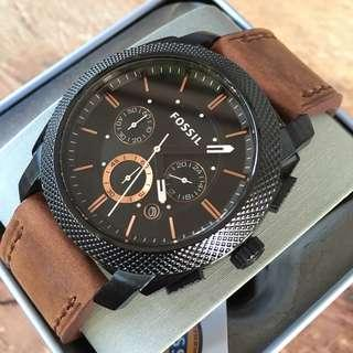 Fossil Machine Chronograph Black Ion-Plated Men's Watch