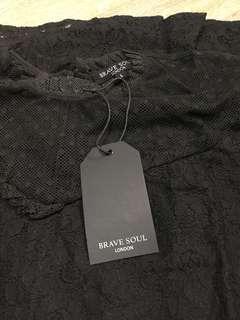 Brave Soul Black Dress
