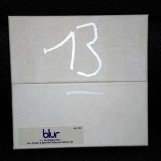 Serially-numbered BLUR CD album Limited edition