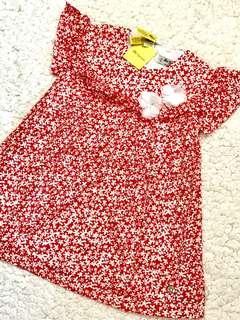 🚚 全新! 西班牙皇室御用童裝Pili Carrera精緻重工鏤空花朵刺繡純棉全內襯洋裝(6歲/116cm)