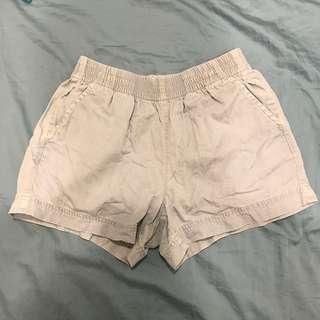 水洗鬆緊牛仔短褲