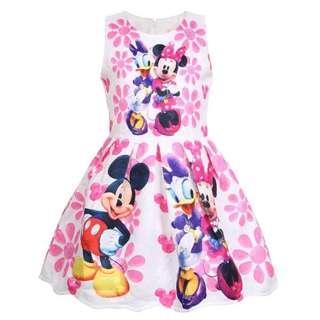 PO Mickey & Minnie Dress