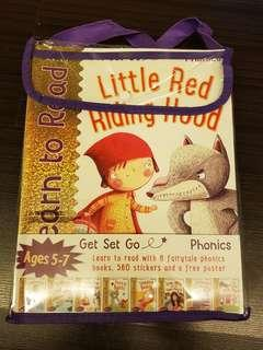 Get Set Go Learn to Read: 8-Book Set