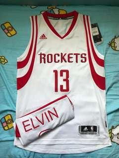 James Harden Rockets Home SW Jersey Size S