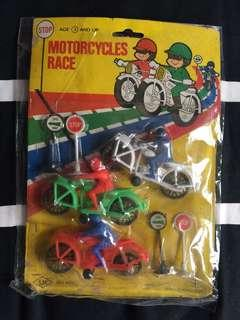 Motorcycle race toys