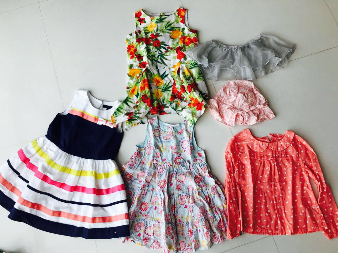 10354d2db 3 year girls dress set. Tommy Hilfiger, Babies & Kids, Girls' Apparel, 1 to 3  Years on Carousell
