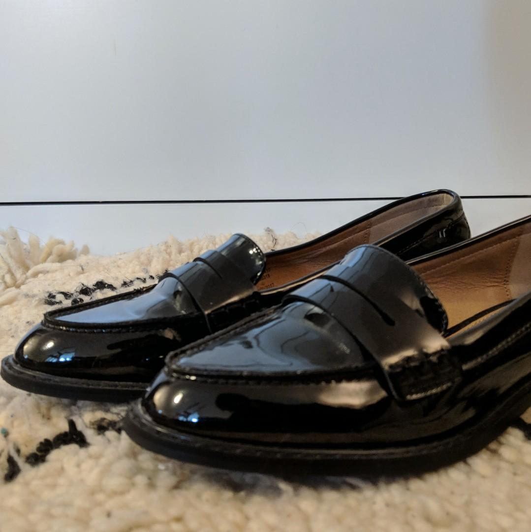 ASOS Black Loafers (4 UK/6 US)