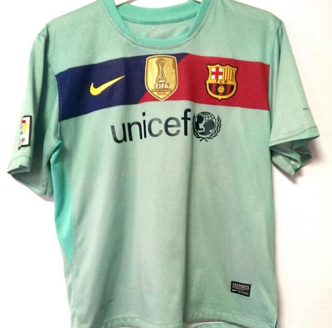 finest selection 74311 6c057 Authentic Nike Barcelona 10 Away Jersey size youth xl ...