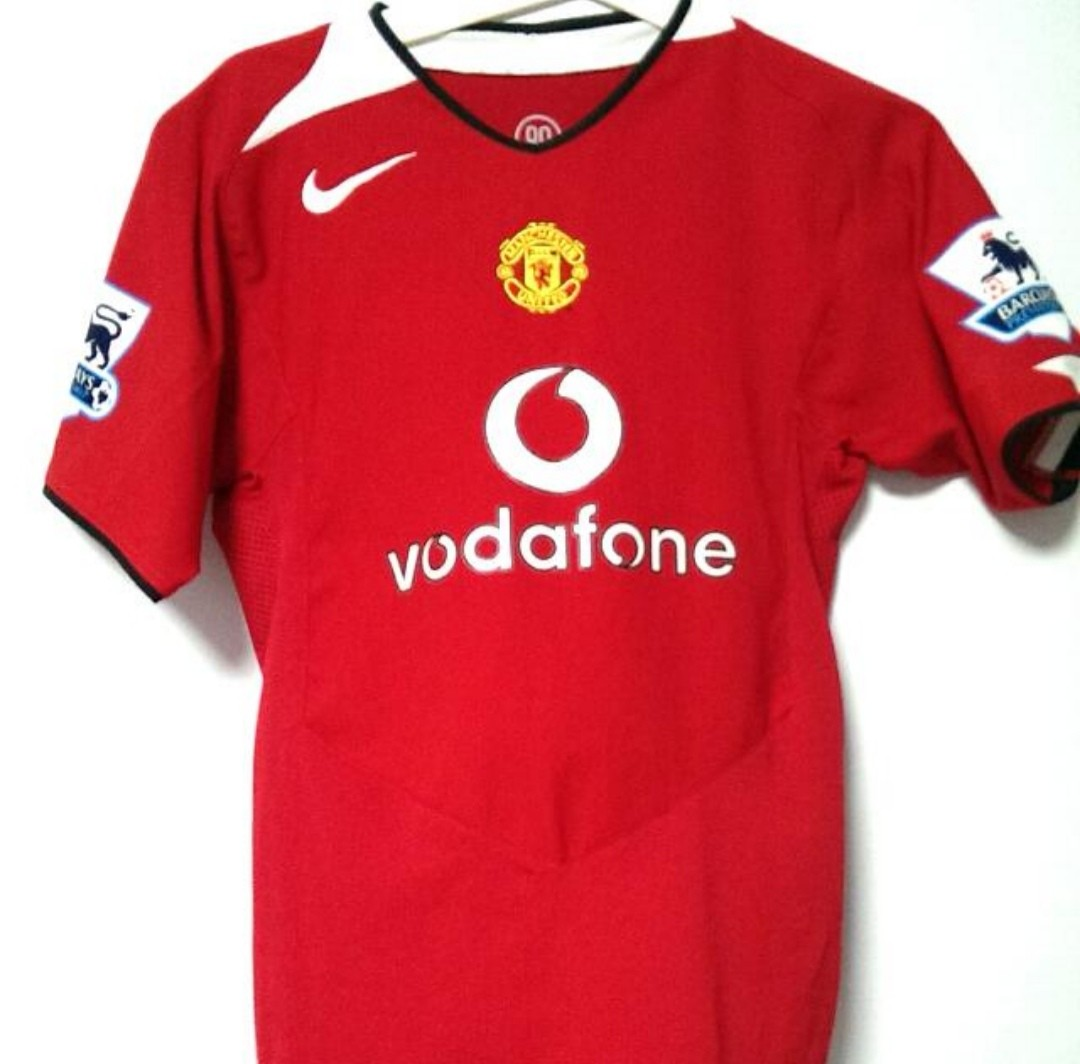 8e2124db2 Authentic Nike Manchester United Jersey Home Youth Large Ronaldo 7 ...