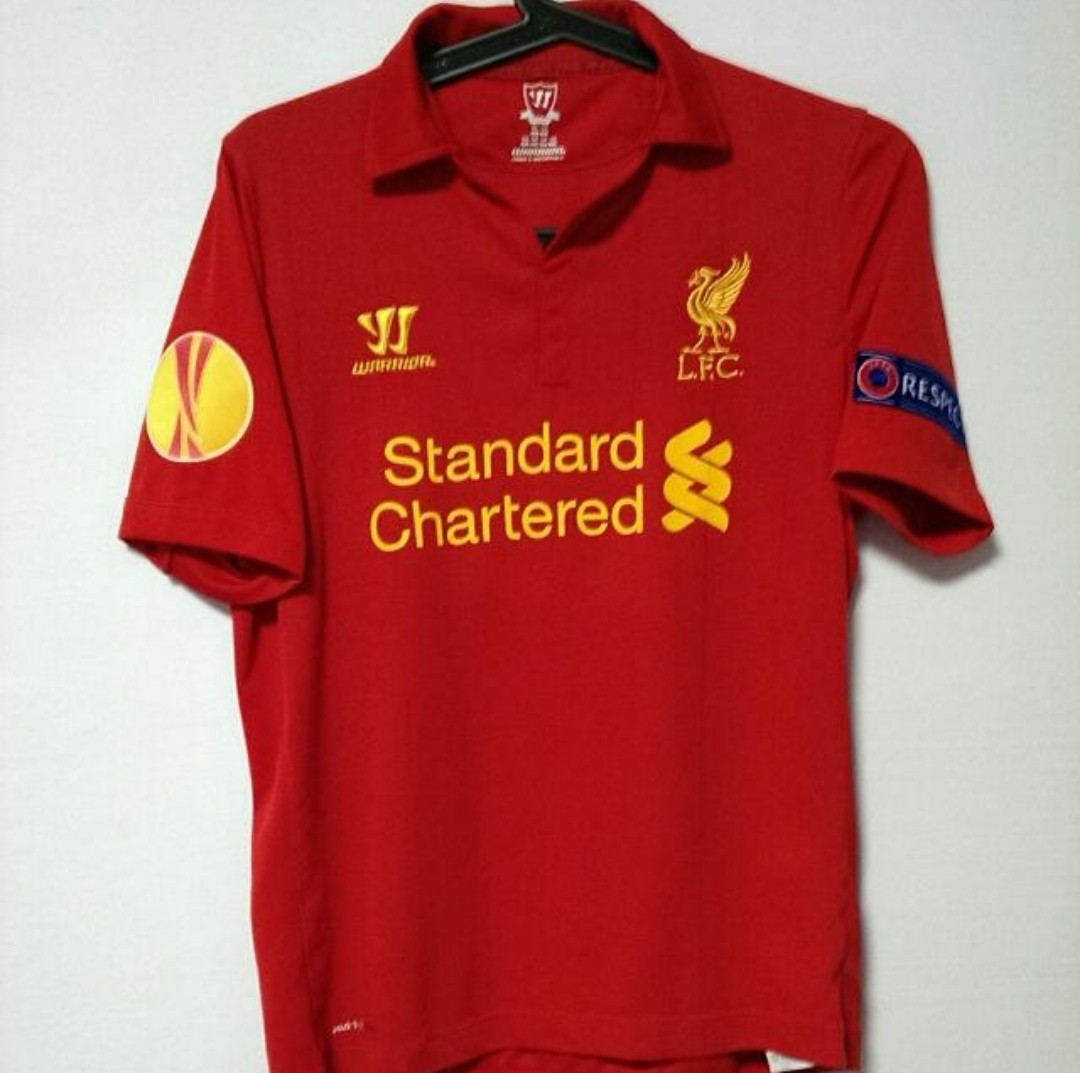 14eab1221 Authentic Warrior Liverpool Jersey Home Size Youth XL
