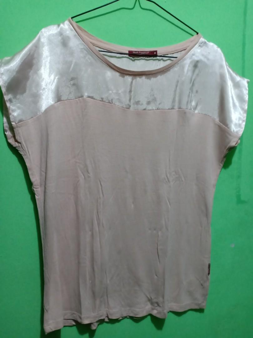 Blouse Pink Hush Puppies #bersihbersih #hushpuppies