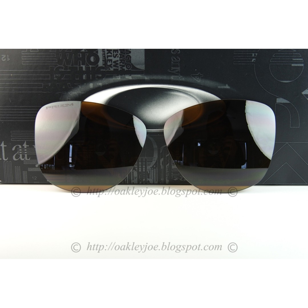 ad2d7ae4c9 BNIB Oakley Frogskins Replacement Lens Kit tungsten prizm polarized lens