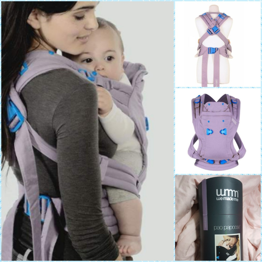692391dda70 Bnib sealed We made me Pao Papoose (lavender) baby carrier