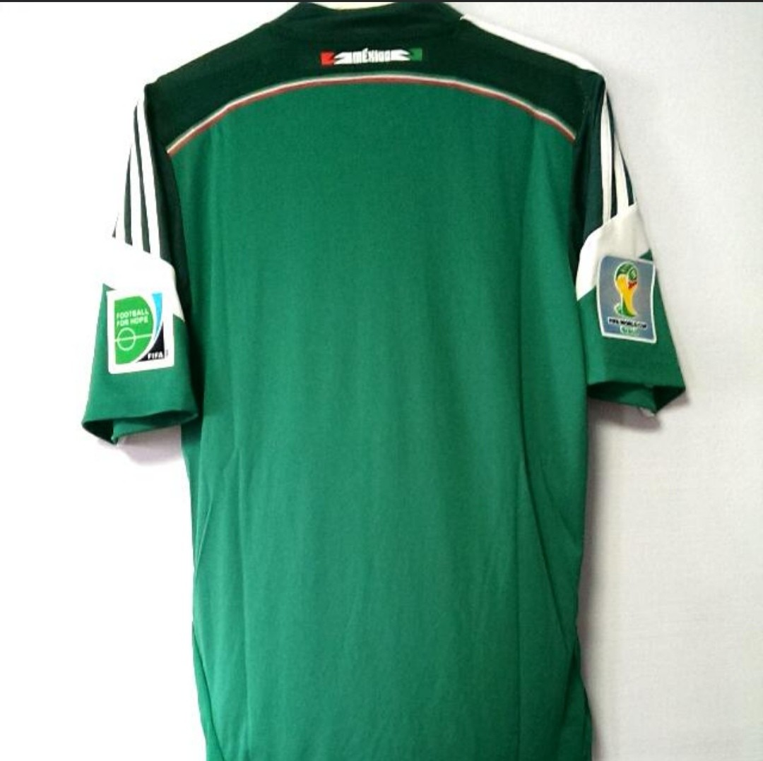 27781f069 BNWT) Authentic Adidas Mexico climacool jersey size S