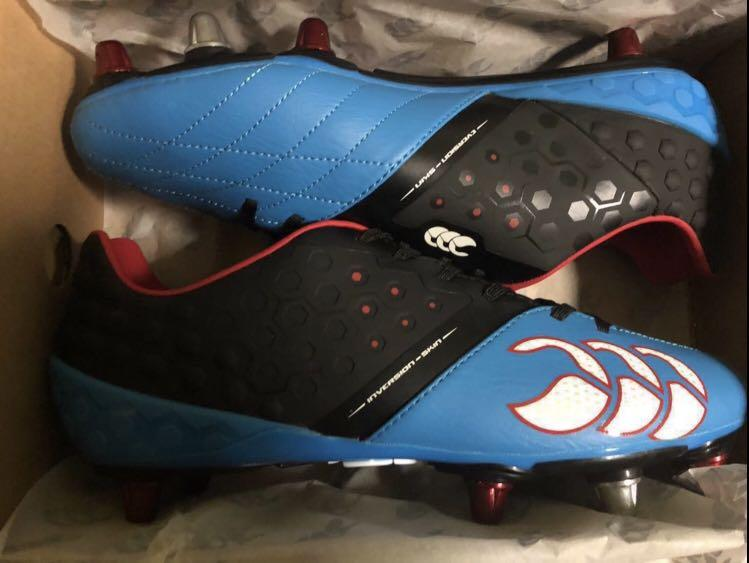 Brand New Premium Canterbury Phoenix Rugby Soccer Boots Metal Stud Men S Us10 Sports Sports Games Equipment On Carousell