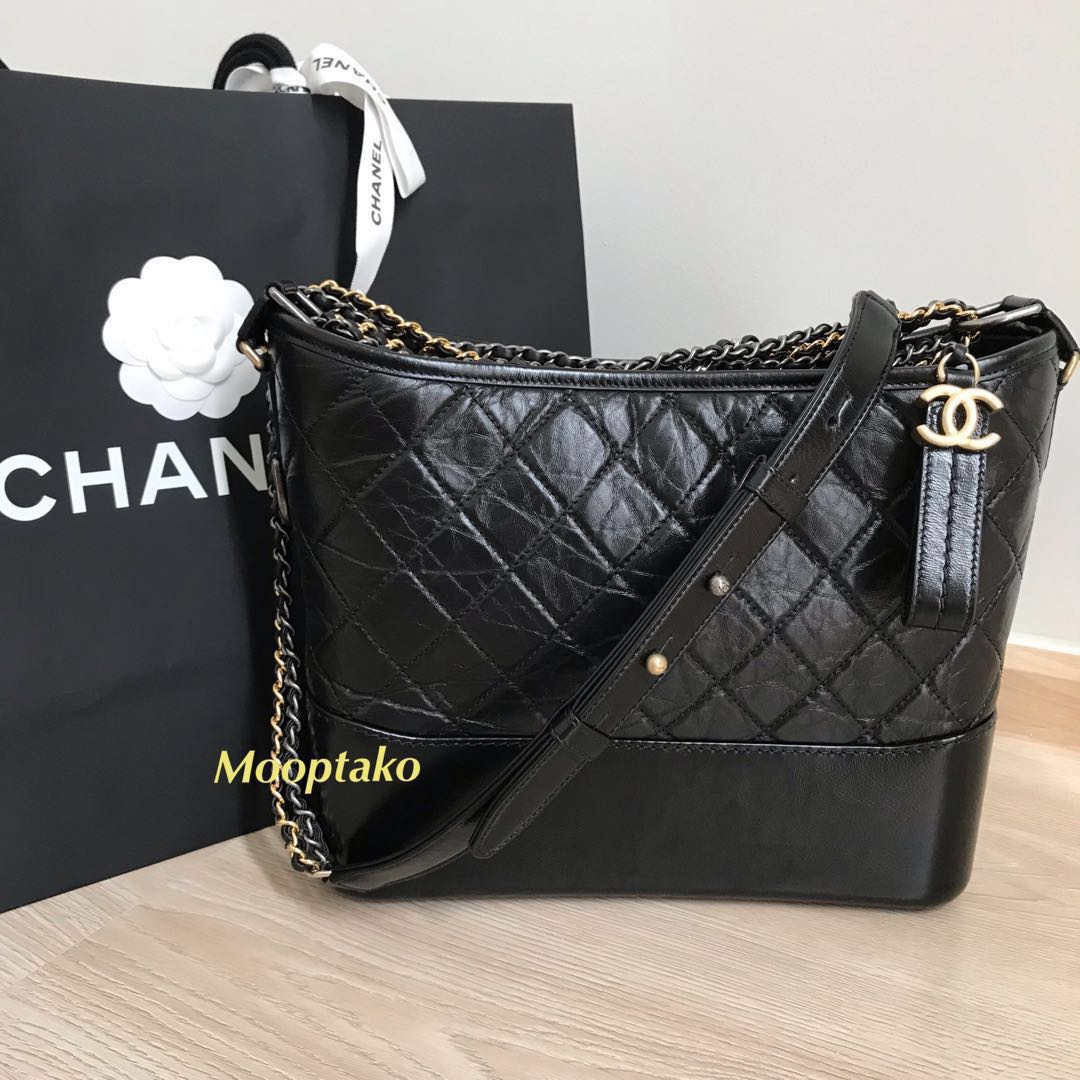 c0840b91683e Brand-New CHANEL Gabrielle bag medium, Luxury, Bags & Wallets ...