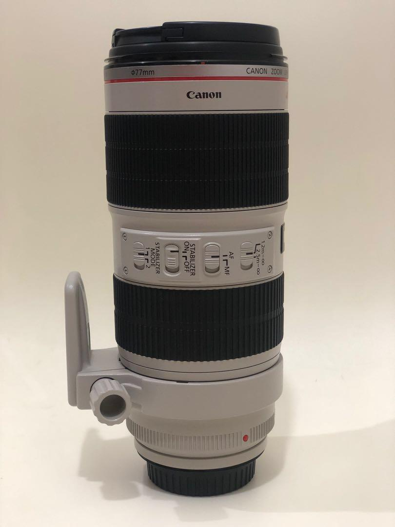 Canon 70-200mm F2.8L IS II USM