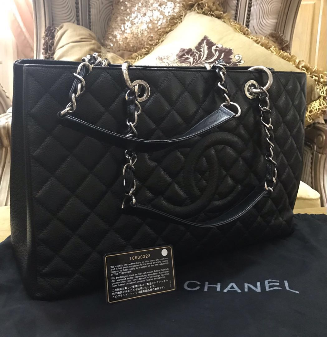 1789bc3e4299b3 Chanel Grand Shopping Tote Handbag, Luxury, Bags & Wallets, Handbags ...