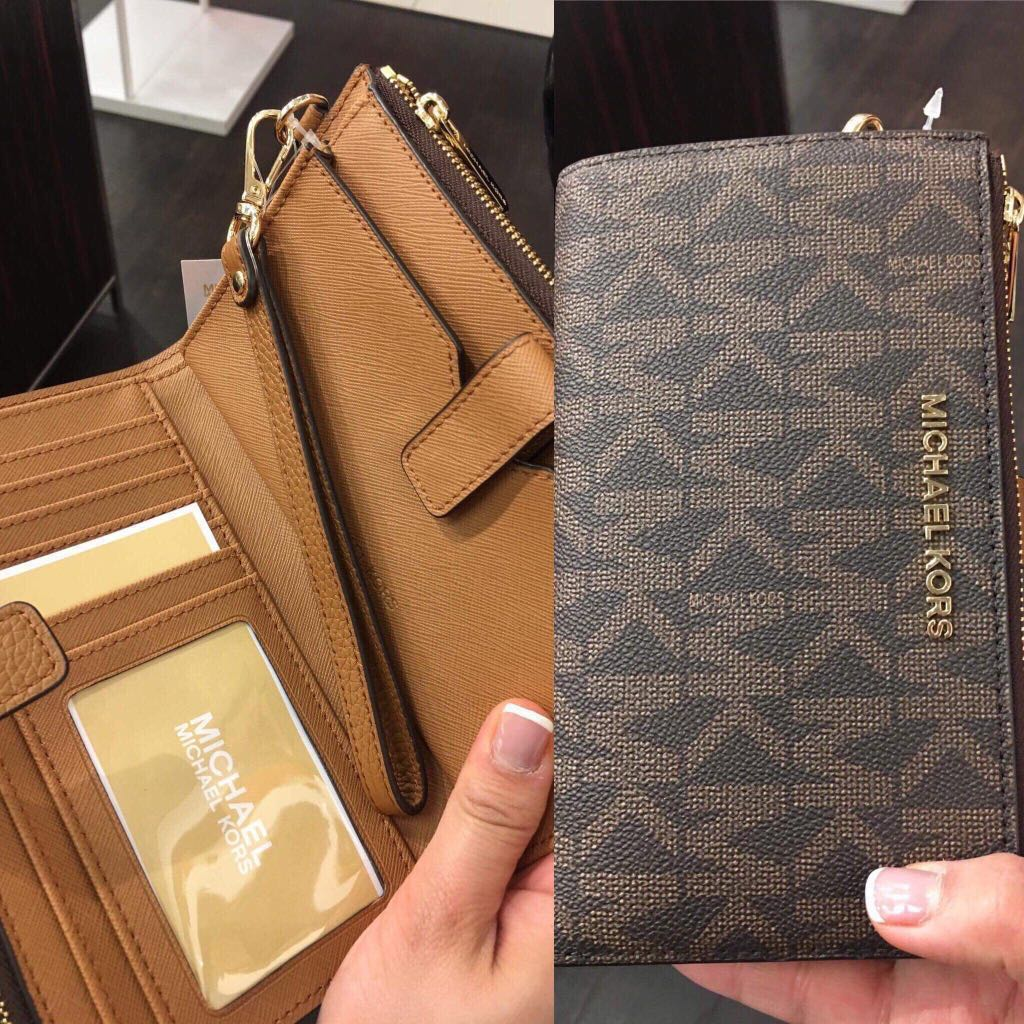 59e74d070931 📌clearance sale:Authentic michael kors adel wallet before 6,500 now ...