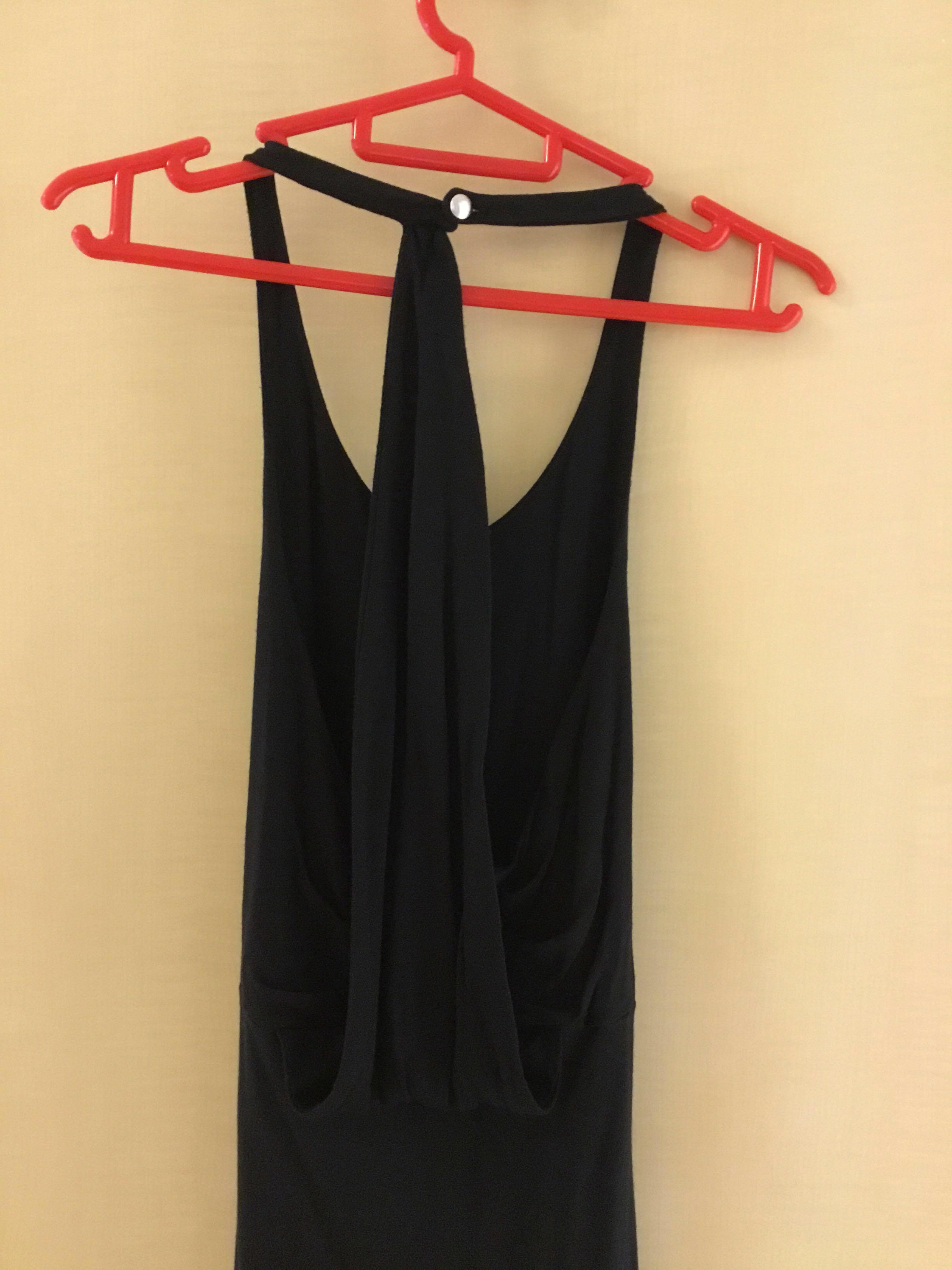 e09155cd3 Club Monaco Elegant Halter-neck Low Back Dress 長身裙