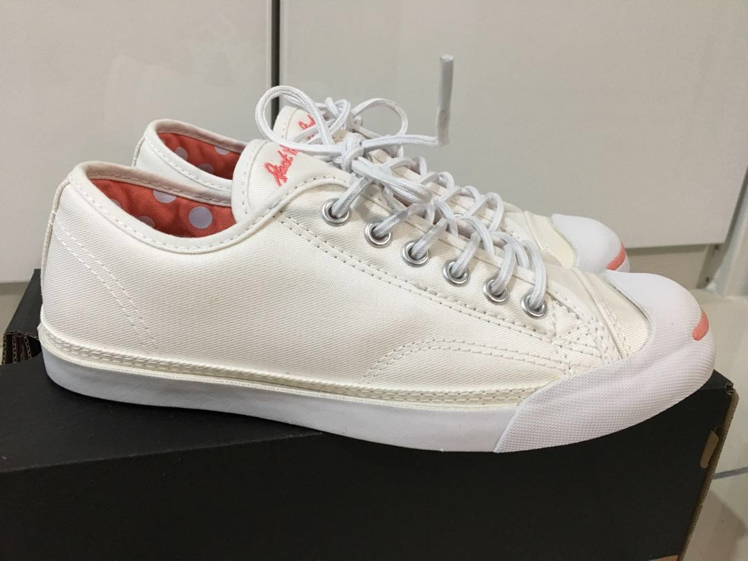 Converse Jack Purcell LP 158498C White Women - New aae4883cb