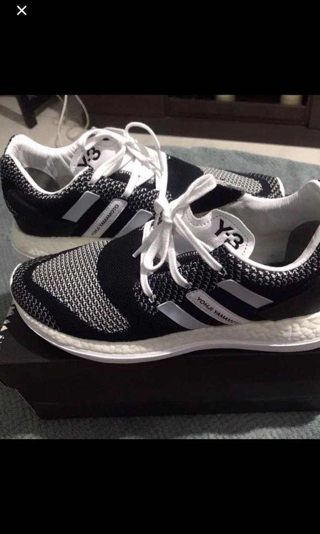 8bd229754 FIRM. Adidas Y-3 pureboost zg knit us8.5 uk8
