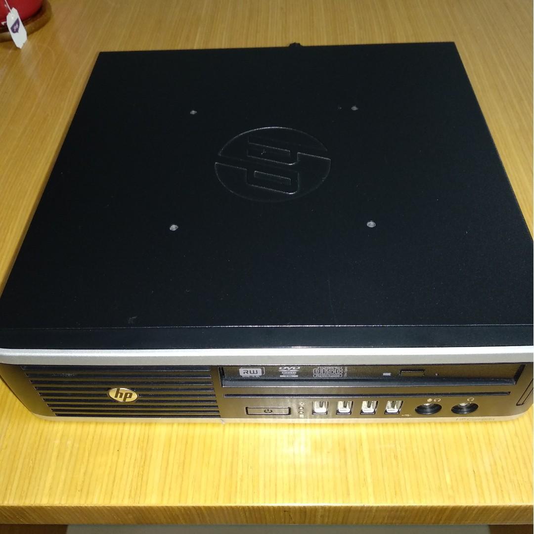 HP Compaq Elite 8300 Ultra-slim PC + lot of accessories