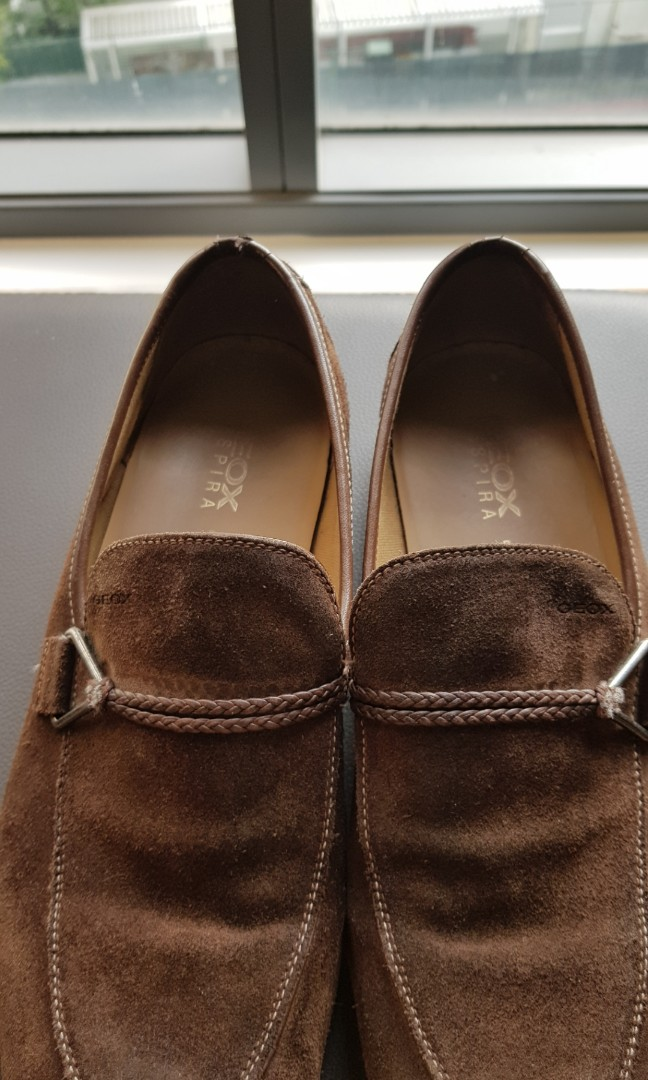 ce090cd5522 GEOX RESPIRA LOAFERS, Men's Fashion, Footwear, Formal Shoes on Carousell