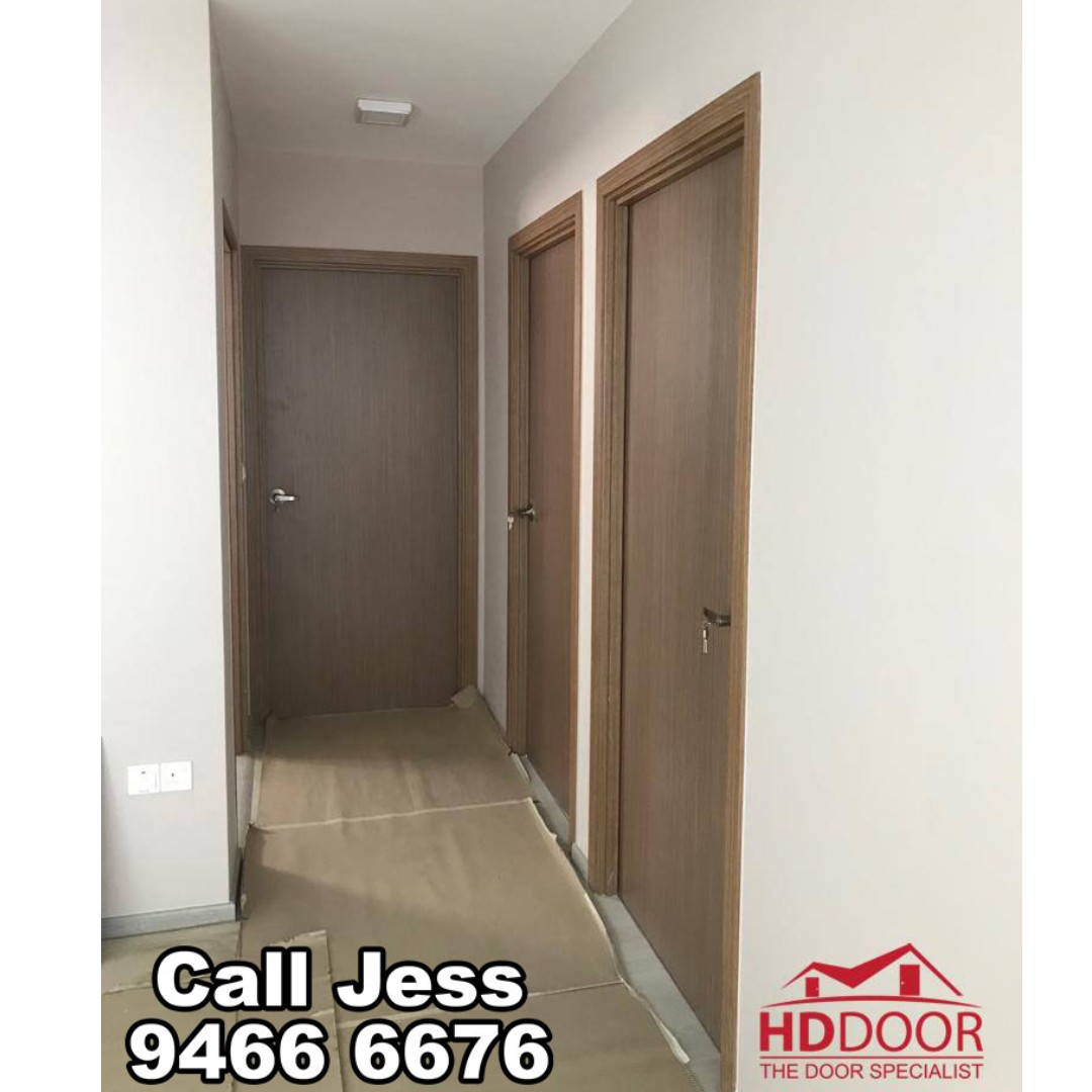 HDDoor the Bedroom door with install, Furniture, Others on Carousell