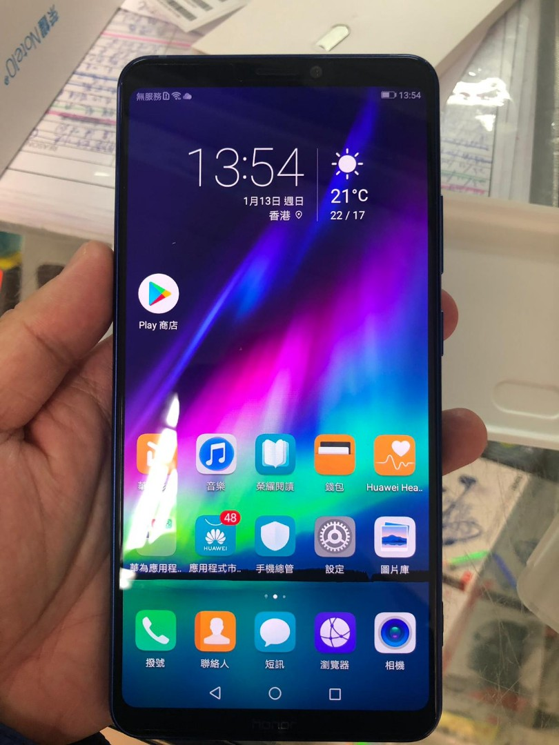 Honor note 10 blue 6g 128gb