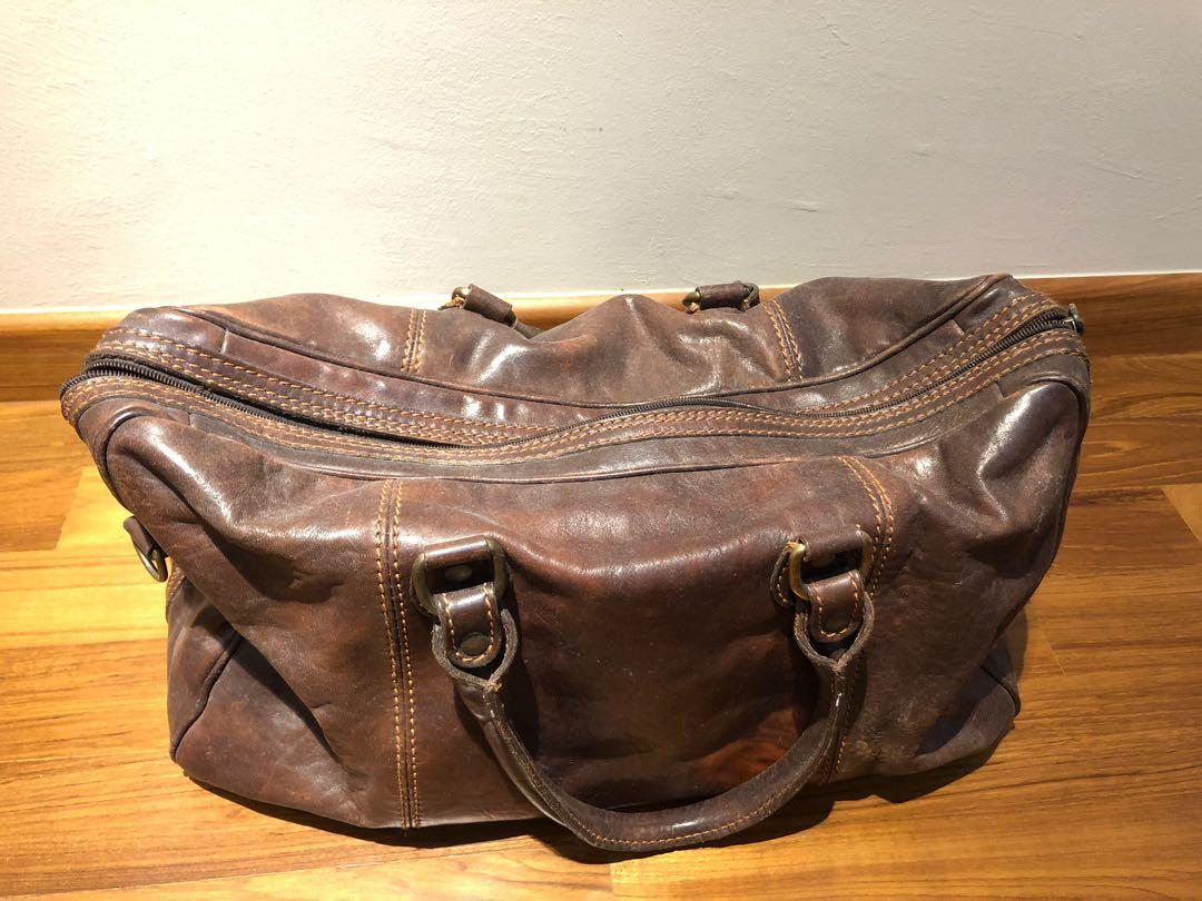 Italian Boston bag