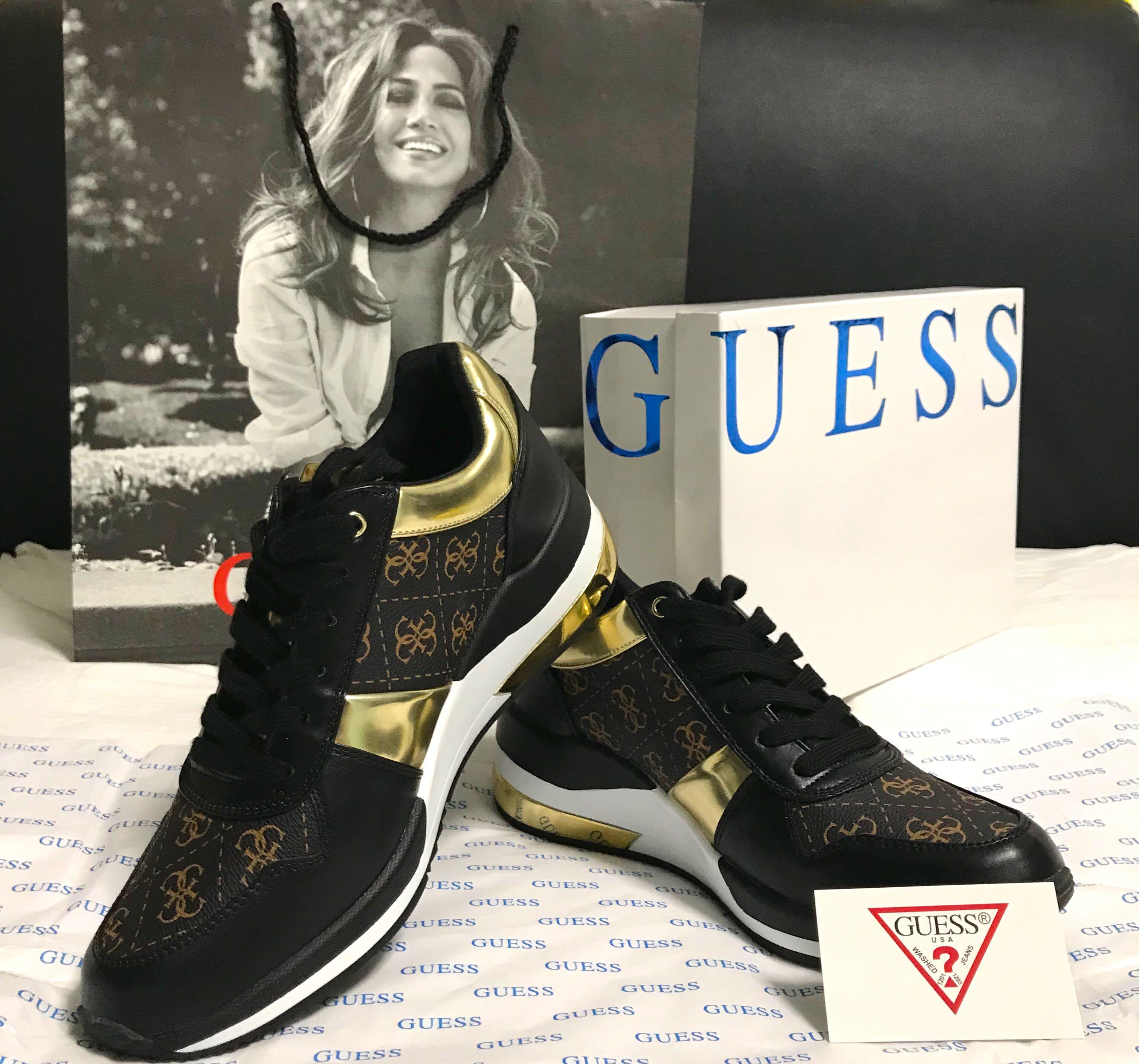 Janett Embossed Logo Running Shoes by