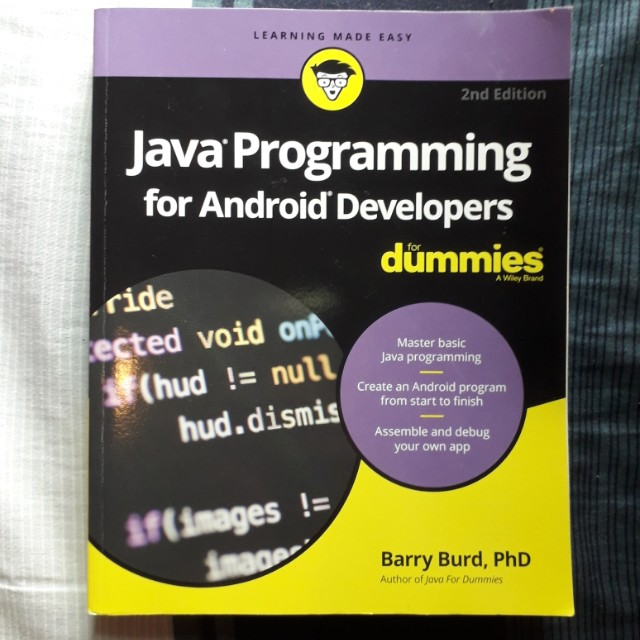 Java Programming For Android Developers For Dummies Books
