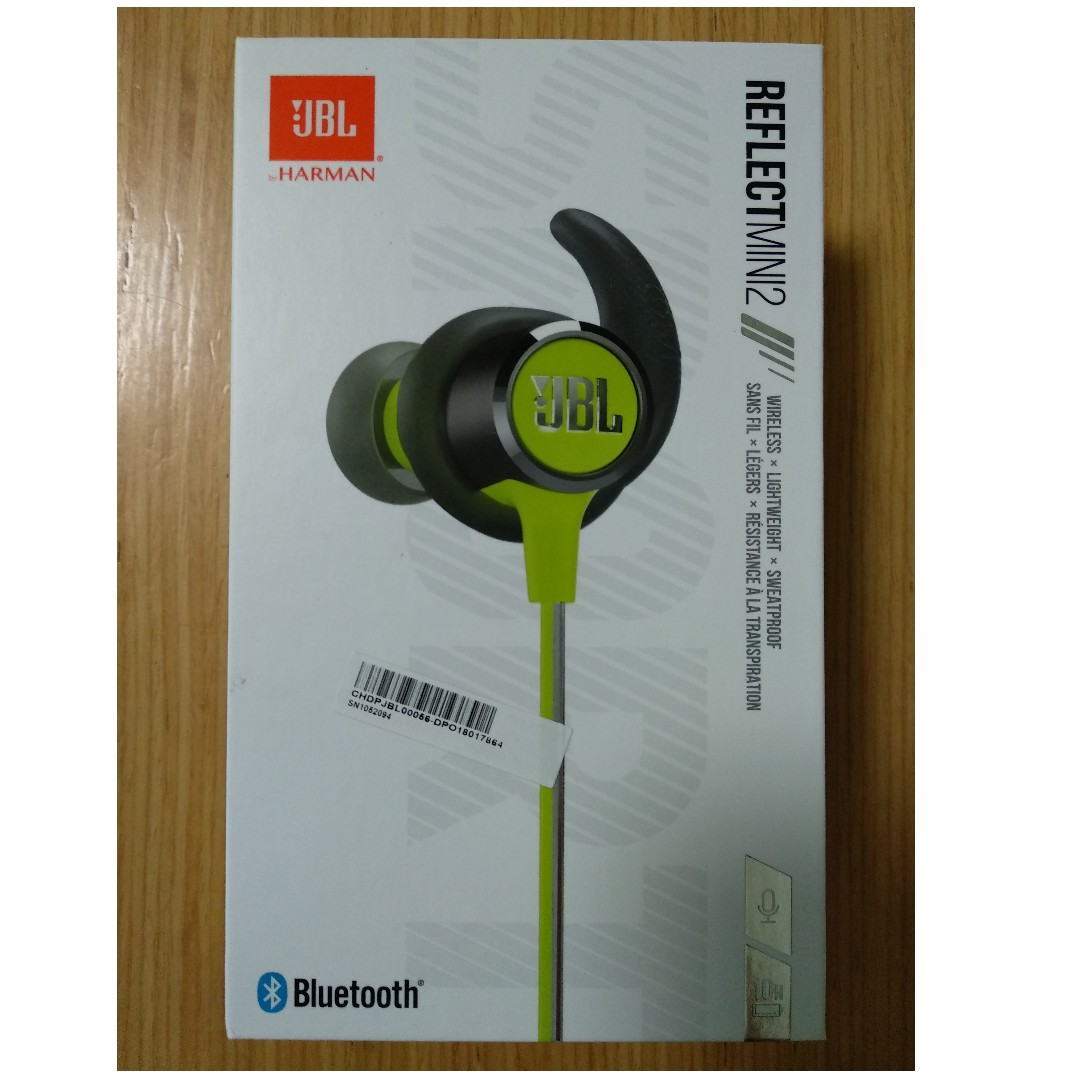 d3042c5d0f0 JBL Reflect Mini 2 (Green) + Mi Basic In-ear earphone, Electronics ...
