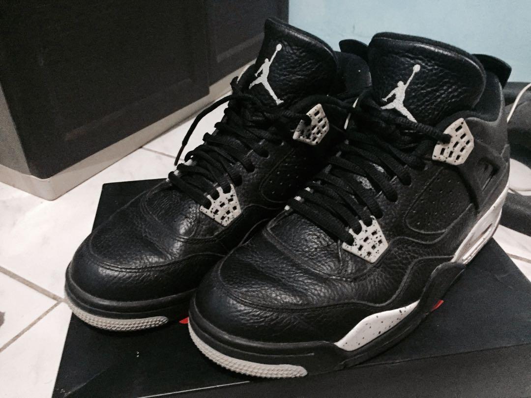 new concept 13ade 5cddc Jordan 4 Retro LS (Oreo), Men s Fashion, Footwear, Sneakers on Carousell