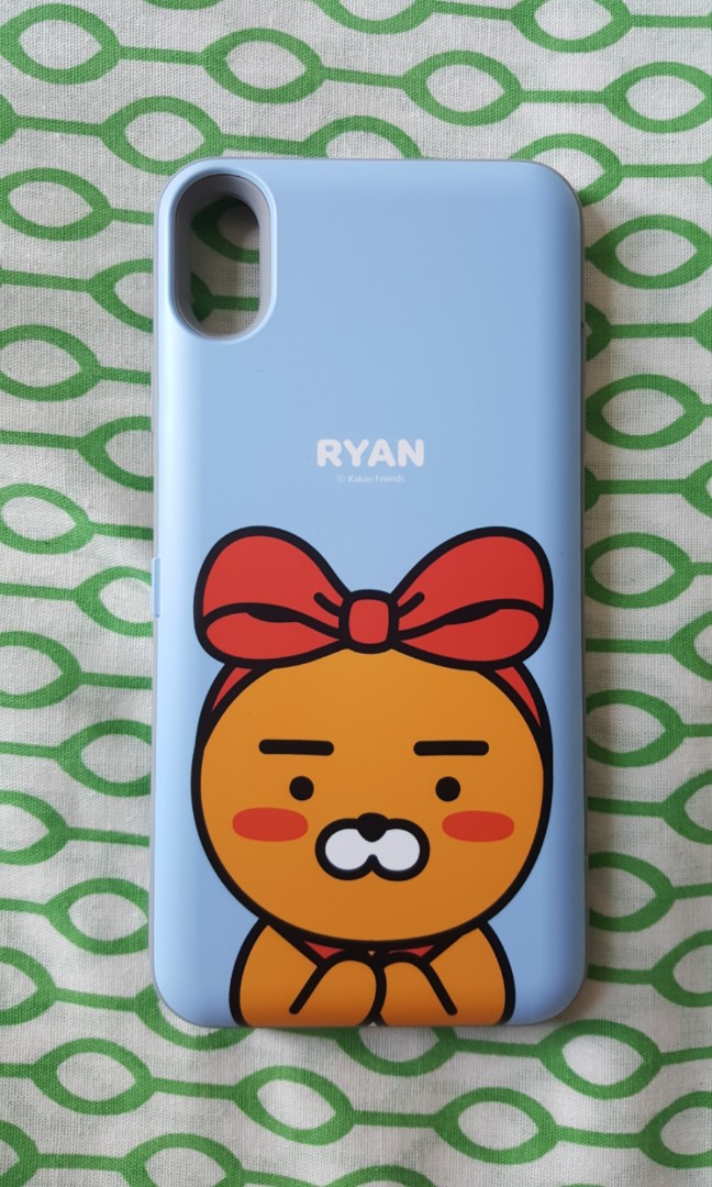 new products c42eb c9c72 Kakao friends ryan iphone XS MAX case