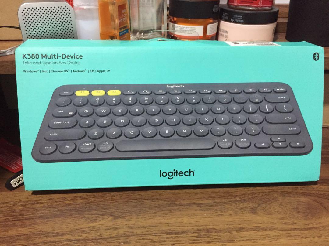Keyboard Logitech K380 multi device black