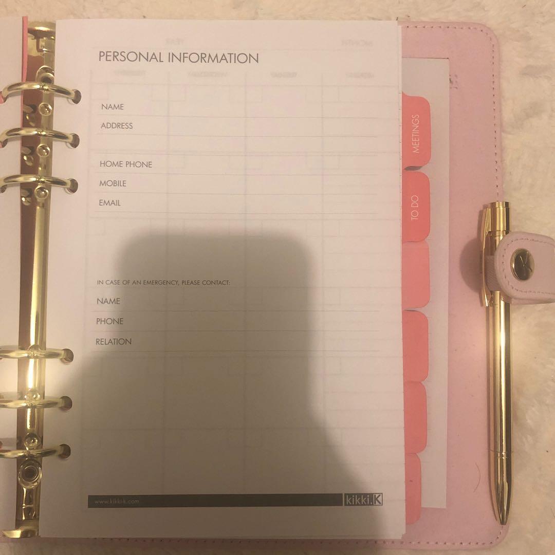 Kikki.K diary / journal